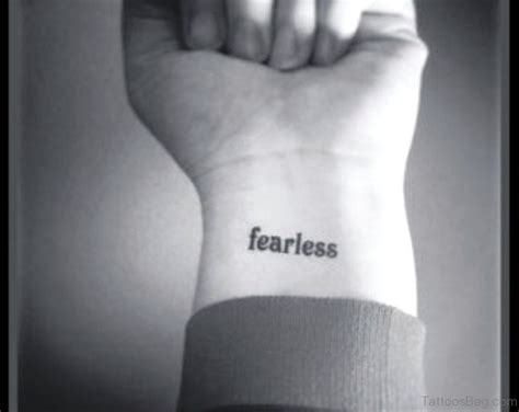 fearless wrist tattoo 26 dazzling fearless tattoos on wrist