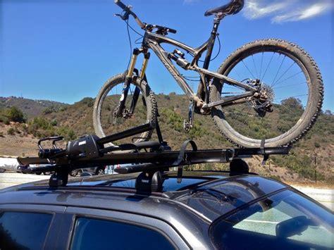 Installing Thule Bike Rack custom thule roof rack bike rack install