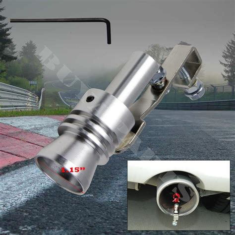 Turbo Whistle Suara Turbo Universal Ukuran Large universal large polished turbo sound exhaust whistle valve simulator l ebay