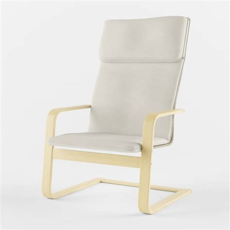 ikea pello armchair 3d model of ikea pello armchair