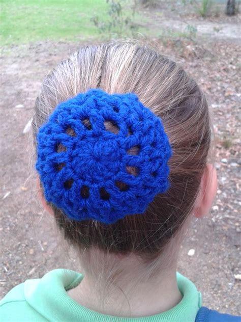 crochet pattern bun net free pattern buns and hair on pinterest