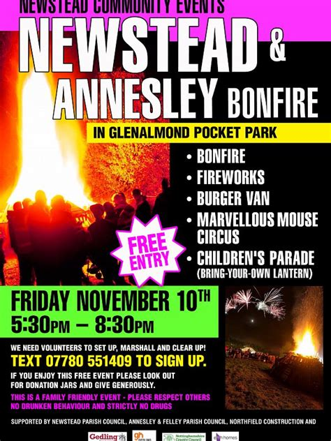 Fridays For November 10th by News Annesley Felley Parish
