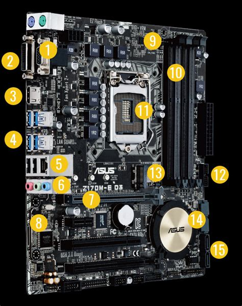 New Original Motherboard Asus Z170m E D3 Socket 1151 z170m e d3 motherboards asus global