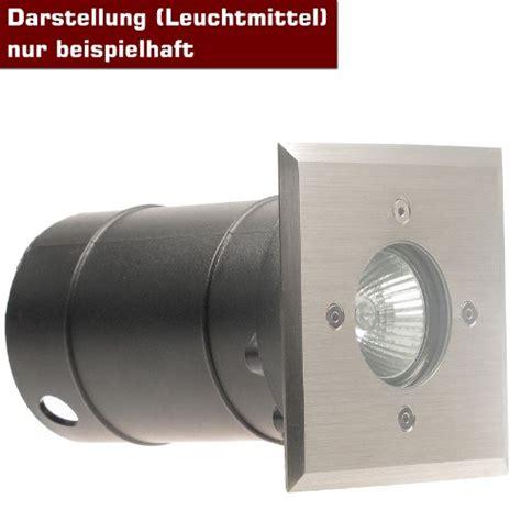 Led Leuchtmittel Für Aussen 1196 by Ip67 Bodeneinbaustrahler Tierra 1 Plus Eckig Auch In