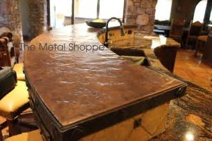 for the future hammered copper counter tops home