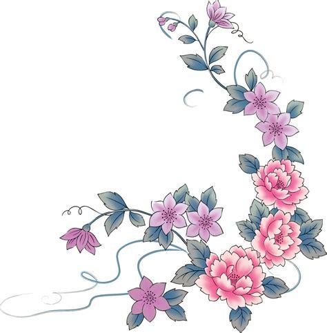 imagenes flores simples 174 colecci 243 n de gifs 174 marcos esquineros para fotos de flores