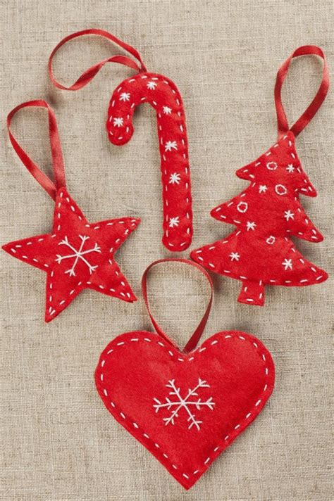 25 unique christmas decorations sewing ideas on pinterest