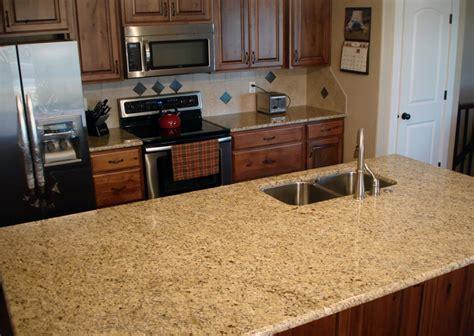 giallo ornamental granite - Giallo Ornamental Granite With Backsplash