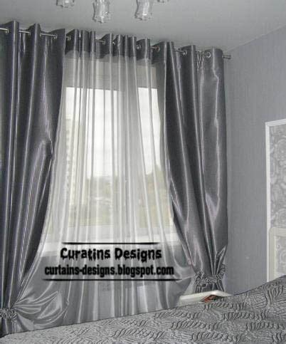 silver bedroom curtains curtain designs
