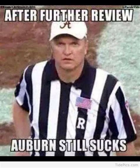 Roll Tide Meme - after further review alabama crimson tide pictures