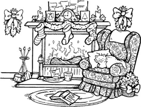 archivoclinico: christmas fireplace drawing images
