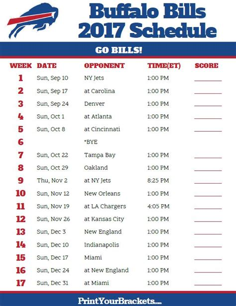 printable nfl giants schedule 17 best images about printable nfl schedules on pinterest