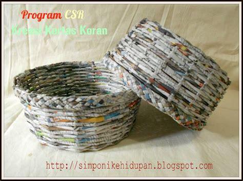 membuat kerajinan tangan dari koran cara membuat kerajinan tangan dari kertas penutup lilin
