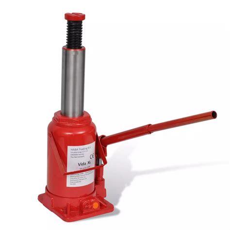 210259 Hydraulic Bottle Jack 20 Ton Red Car Lift ... Hydraulic Car Bottle Jack