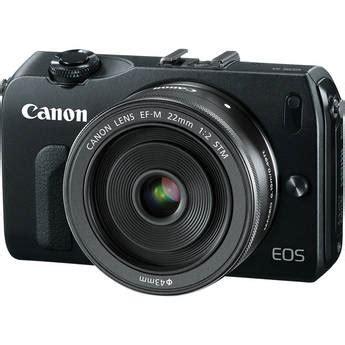 canon eos m mirrorless digital camera with ef m 22mm 6609b033