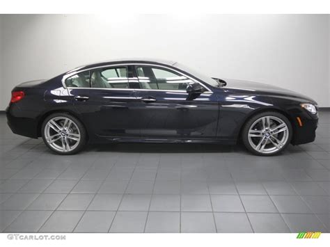 Carbon Black Metallic 2013 BMW 6 Series 650i Gran Coupe