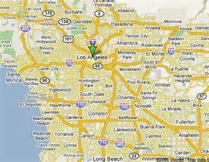 Los Angeles Google Maps by Southern California Wanderus Travel Tips For The