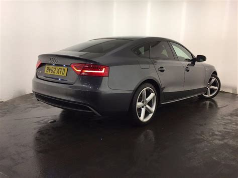 used 2012 audi a5 2 0 tdi s line sportback 5dr for sale in