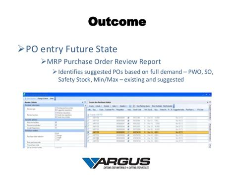 syspro report templates argus industries supply chain kaizen with syspro erp