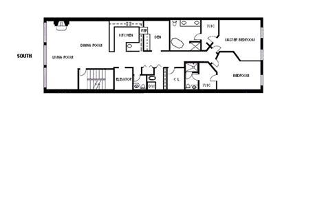 narrow kitchen floor plans long and narrow floor plans open kitchen google search