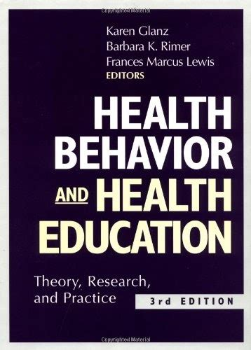 introduction to health behavior theory books books free health behavior and health