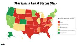 States Where Pot Is Legal Map by 8 Facts About Marijuana Legalization Everyone Should Know