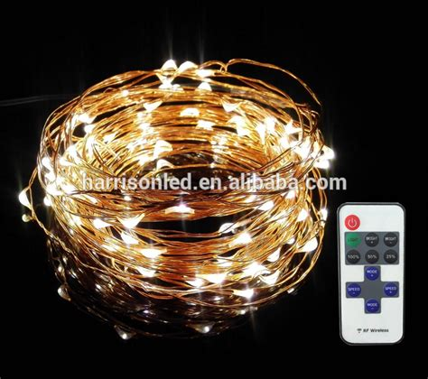 new design micro mini led rice lights on copper wire