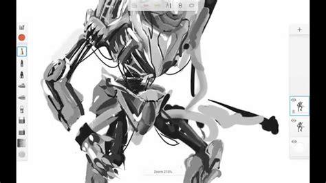 concept art tutorial sketchbook pro concept artists autodesk sketchbook for android part i