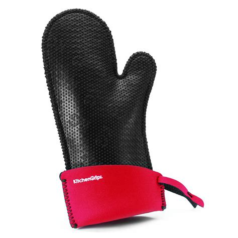 Kitchen Grips by Duncan Kitchen Grips S Relaxed Fit Oven Mitt Cherry