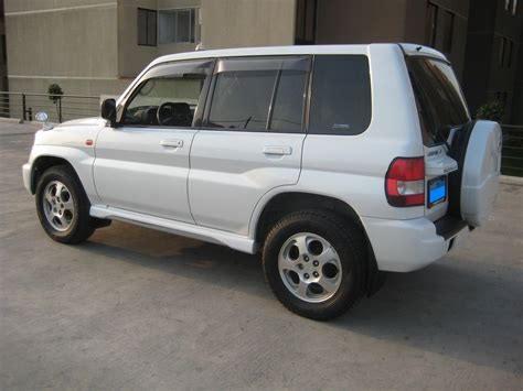 mitsubishi car 2001 2001 mitsubishi pajero io pictures information and