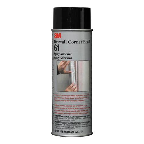 bead spray 3m drywall corner bead 61 spray adhesive box of 6
