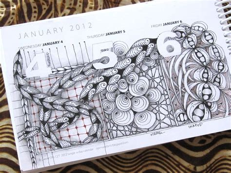 doodle diary calendar 1000 images about zentangle patterns on