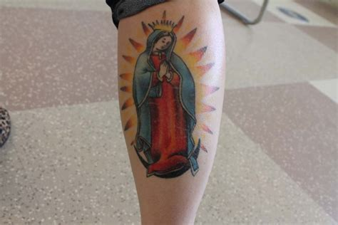 lady of guadalupe tattoo the ink around ths talawanda tribune