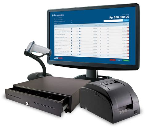 Software Kasir Toko Komputer Printer Barcode Atm Reader Kokas Irit zahir malang branch software akuntansi zahir pos 6 point of sale