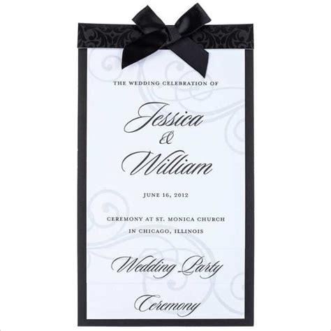 Wedding Menu Clip by Wedding Menu Template Free Clipart Best