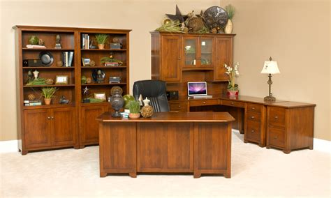 Cherry Office Furniture by Cherry Valley Office Suite Amish Furniture Designed