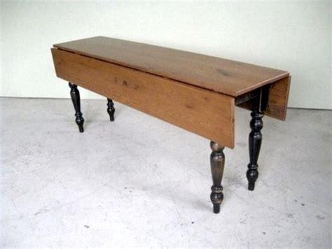 oak drop leaf table with black legs farmhouse