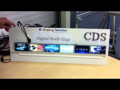 Digital Shelf by Cds Digital Shelf Edge Tft Display Marketing System