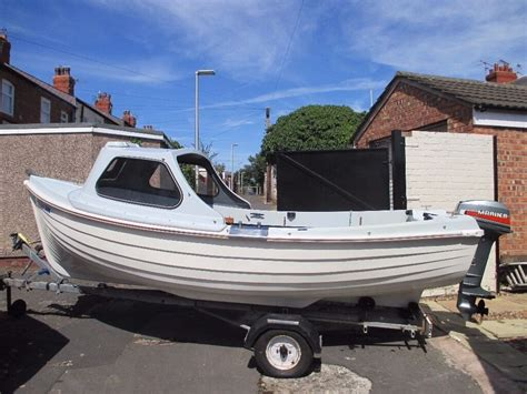 fishing boats for sale lancashire fishing boat dell quay fisher 15 in blackpool