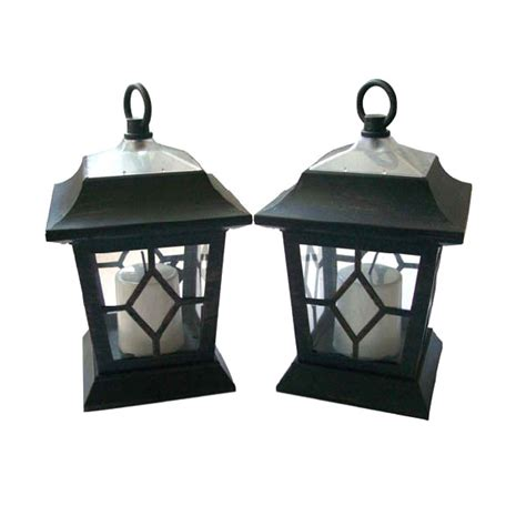 solar carriage lights solar candle coach lantern pack of 2 on sale fast