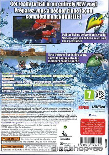 Rapala For Kinect rapala for kinect xbox 360 discshop se