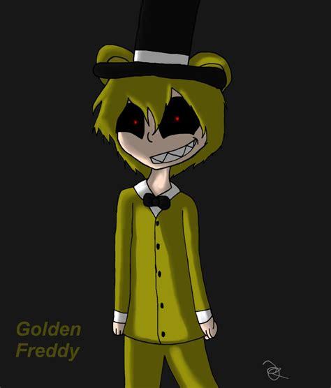 golden anime human freddy human golden freddy by pollydragon on deviantart