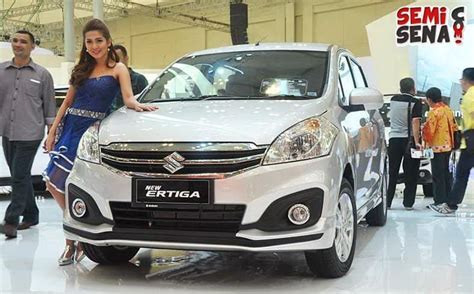 Tirai Mobil Ertiga Suzuki Indonesia Akhirnya Rilis New Ertiga Semisena