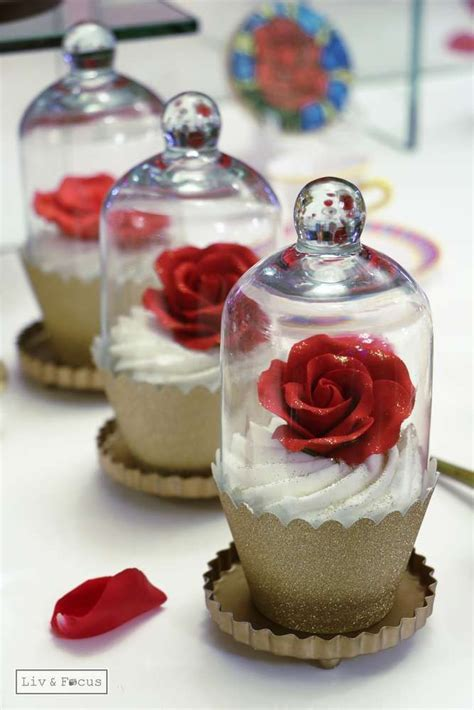 rose themed wedding favors belle beauty and the beast quincea 241 era party ideas