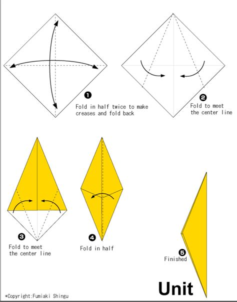 Origami Giraffe Diagram - origami a giraffe easy origami