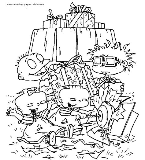 Rugrats color page   Coloring pages for kids   Cartoon