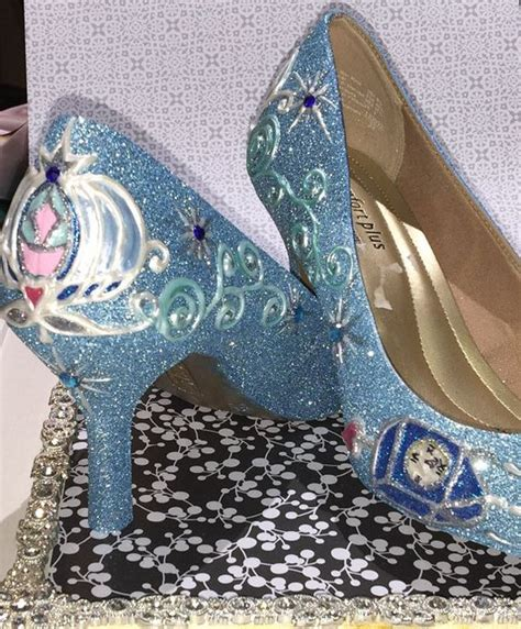 cinderella slippers for adults cinderella s shoes with decorated