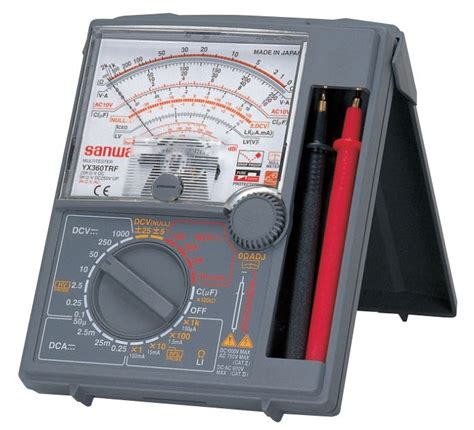 Alat Multitester sanwa analog multimeter yx 360trf multimeters cl