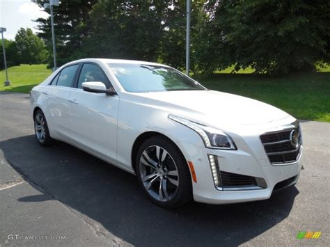 2014 Cadillac Cts Vsport by 2014 White Tricoat Cadillac Cts Vsport Premium
