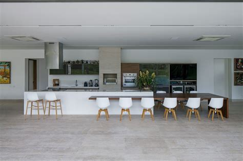 Luxury Livingroom by Kitchen Breakfast Bar Dining Table Home In Uberlandia